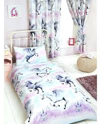 purple toddler bedding stardust unicorn junior duvet cover and teal erfly purp