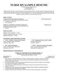 registered nurse sample resumes sample resume for nurses nurse resume sample sample resume