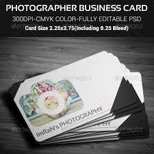 Photographer Business Card Graphics Designs Templates