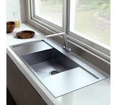 extremely deep bowl kitchen sink with drainer 710 420 220mm stainless steel
