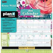 easy calendars calendars grow wild plan it plus calendar with 442 event reminder stickers easy to glance