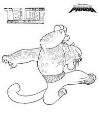 kung fu panda kleurplaten tai lun