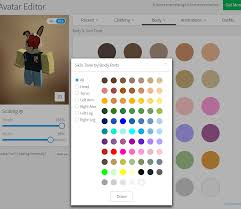Roblox Skin Creator Roblox Has Kept Body Colors Intact Bless Roblox