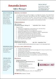 Cv Template Office Office Resume Template Office Manager Resume Samples Office