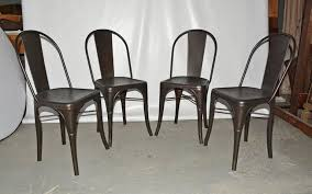 xavier pauchard french industrial dining room furniture. Set Of Four French Bistrot Chairs Designed By Xavier Pauchard For Tolix. The Industrial Dining Room Furniture A