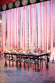 birthday decoration with paper ribbons best ribbon wall ideas on photo booth streamer backdrop fabric