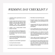 Checklist For Wedding Day Wedding Day Photography Checklist All The Things Your Photographer