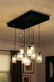 mason jar chandelier diy mason jar chandelier mason jar rustic pallet light fixture diy