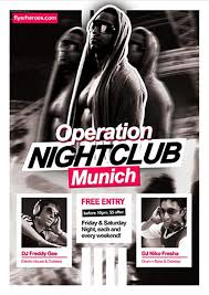 club flyer templates free nightclub flyer templates download hypnotica free psd party