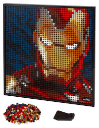 Marvel Studios <b>Iron Man</b> 31199 | LEGO® Art | Buy online at the ...