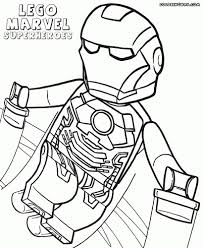 Lego Avengers Coloring Pages Lego Marvel Superheroes Coloring Pages