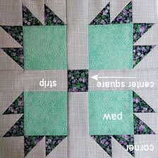 Bear Paw Quilt Pattern Delectable Bear Paw Free Quilt Pattern