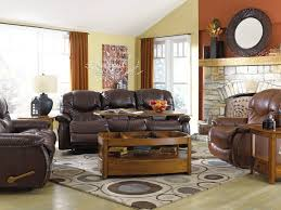 image of elegant living room rug placement