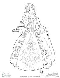 Barbie Coloring Pages Free Barbie Coloring Page Barbie Coloring