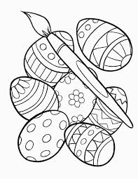 Free Printable Easter Egg Coloring Pages For Kids For Printable