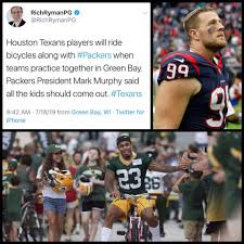 Skip to main search results. Might Not Be On Greenbay But Jj Watt Will Be Able To Ride Bikes Where He Grew Up Loving The Game Greenbaypackers