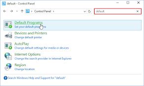 Default E Mail Program In Windows 10 Support