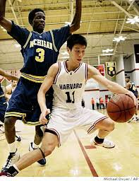 Men's asian american college basketball