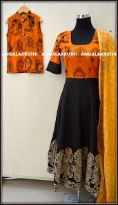 Designer Salwar Kameez Boutique In Bangalore Kalamkari Designs By Angalakruthi Ladies And Kids Designer