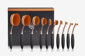 yoseng makeup brushes 10 piece toothbrush tool set