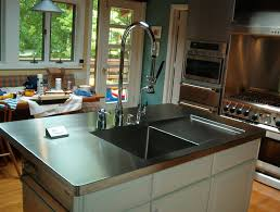 cost of stainless steel countertops