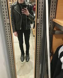 boring all black saint lau outfit