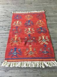 small kilim rugs uk rug vintage red