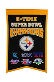 Steelers Applique Design Buy Nfl Pittsburgh Steelers Champions Banner Online At Low
