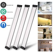 Under the counter lighting Puck Elegant Choise Led Under Cabinet Lighting Infrared Sensor Hand Waving Induction Cabinet Lamp Dimmable Under Democraciaejustica Elegant Choise Led Under Cabinet Lighting Infrared Sensor Hand