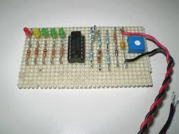 12v battery level indicator circuit 12v battery level indicator photo