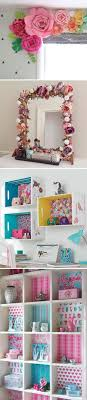 Awesome DIY Projects To Decorate A Girlu0027s Bedroom.
