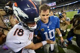 Peyton Manning in town to watch Eli Giants take on Cowboys NJcom