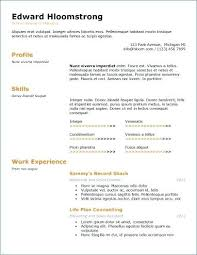 Ats Friendly Resume Magnificent Resume And Cover Letter Ats Resume Template Sample Resume Example