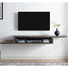 Tv Shelf On Wall Under Tv Wall Shelf Wayfair
