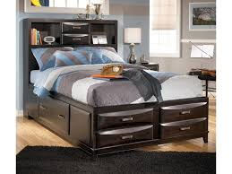 Kira Full Storage Bed by Ashley Furniture at Becker Furniture World