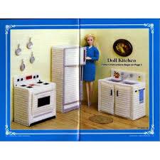 barbie doll furniture plans. free plastic canvas barbie furniture home doll patterns kitchen bedroom plans