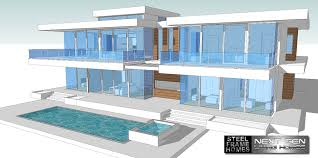 two story modern glass home design next generation contemporary house plans