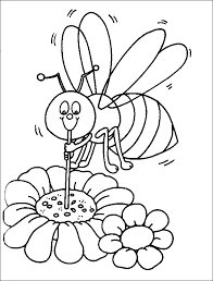 Small Picture Bee Coloring Pages For Honey Lovers Coloring Home