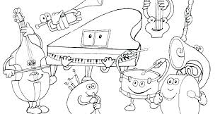 Security Music Coloring Pages Free Page Suddenly Kids 4 Printable