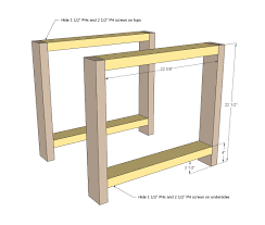 Easy Table Plans Ana White Rustic X End Table Diy Projects