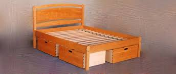 Fabulous Queen Size Bed Frame With Drawers 25 Incredible Queen Sized ...
