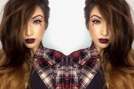 chola makeup for gangster clown tutorial