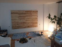 diy wood pallet accent wall wooden pallet wall remodeling ideas