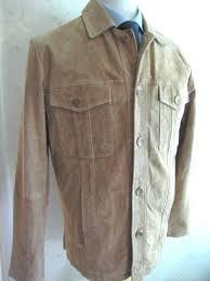 details about wilsons leather mens tan brown jacket size medium m julian wilson s coat