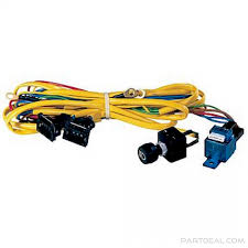 hella hella wiring harness for rallye series halogen lamps hella wiring harness