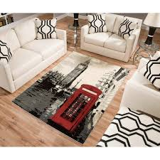 red and black rugs terra london rectangle area rug blackwhitered square red and black rugs