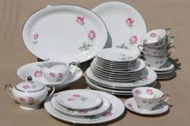 Rose Pattern China Enchanting Pink Roses China