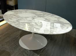 tulip oval coffee table by eero