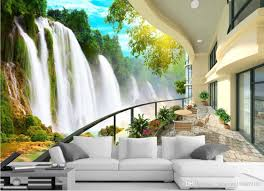 hd waterfall landscape tv wall mural 3d wallpaper 3d wall papers for tv backdrop uk 2019 from catherine198809100 gbp 5 83 dhgate uk