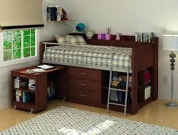 full size bunk bed with desk. Wood Bunk Bed With Desk Loft And Drawers Type Full Size Useful Beds Underneath Cheap